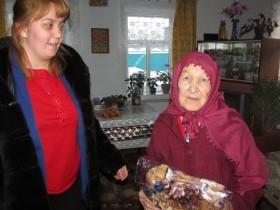 14 января Гаряевой Сание Самигулловне исполнилось 90 лет.