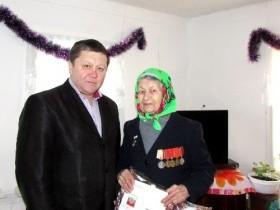90 лет труженице тыла Халимовой Губайде Миндибаевне