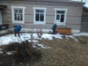 Субботники в населенных пунктах Алегазовского сельского поселения.