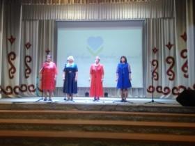 Участие вокального ансамбля «Өмөт» в районном конкурсе творчества людей старшего поколения «Я люблю тебя, жизнь!».