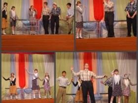 Завершился цикл праздничных мероприятий, посвященных Дню Победы в Великой Отечественной войне, в селе Алегазово театрализованным концертом «Воспоминания о будущем».
