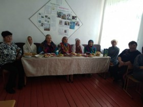 Международный День пожилых людей д. Мелекасово