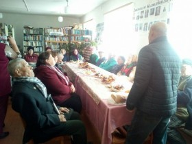 Праздник, посвященный дню пожилого человека в д. Большекызылбаево
