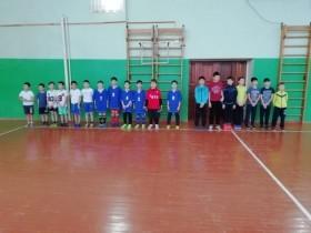 Участие в районном  турнире по мини-футболу  в  с. Большеустьикинское