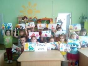 Конкурс рисунков «Трактор для сельского поселения» в детском саду с.Алегазово по ППМИ – 2020.